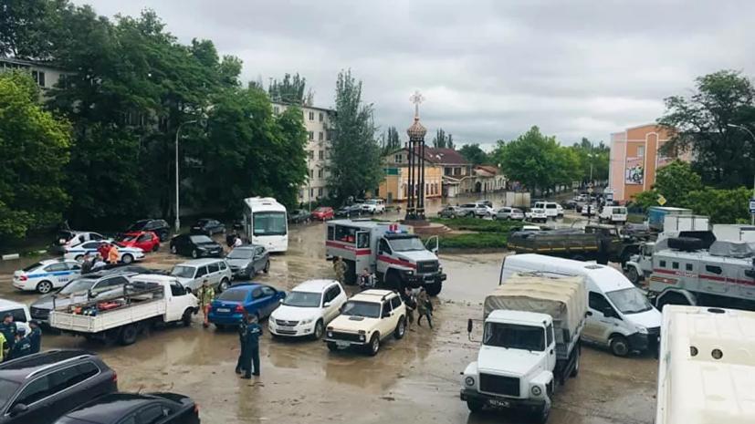 На востоке Крыма эвакуировали 865 человек из зон подтоплений