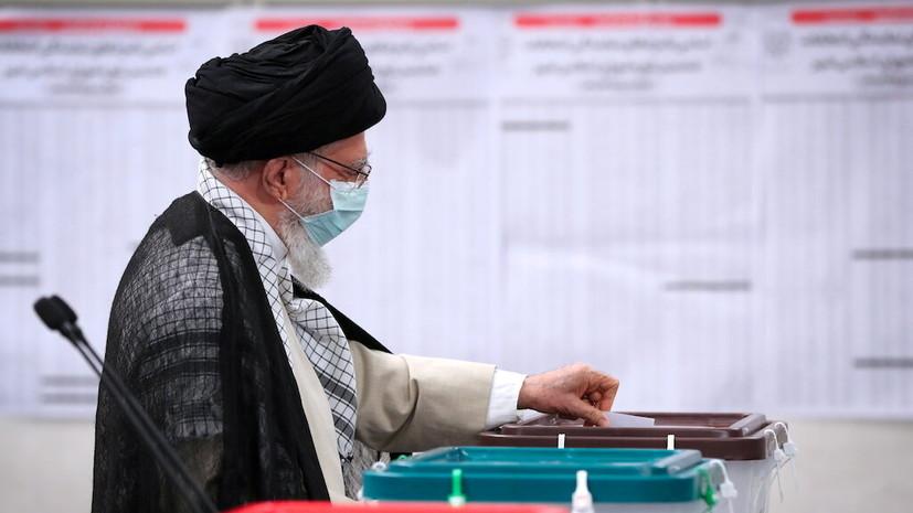Верховный лидер Ирана проголосовал на президентских выборах