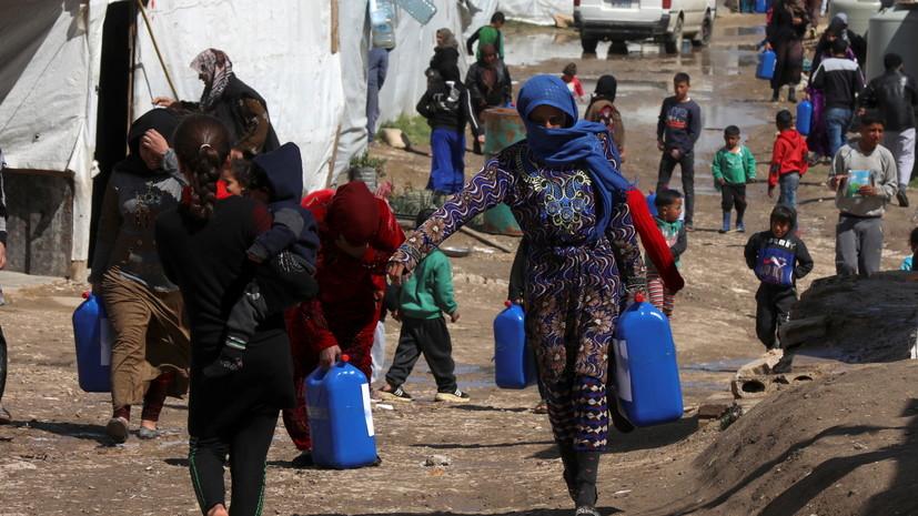 В ООН заявили об увеличении количества беженцев до 82 млн