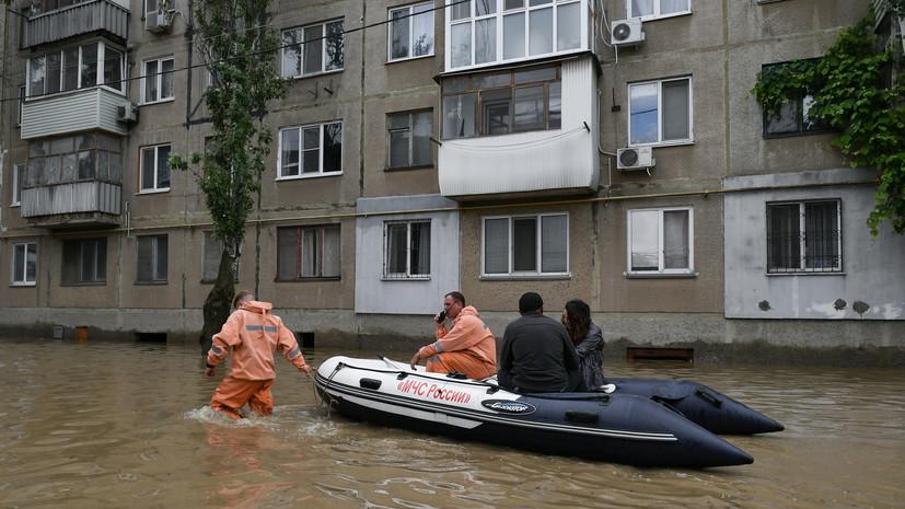 В Крыму из зон подтопления эвакуированы почти 1,4 тысячи человек