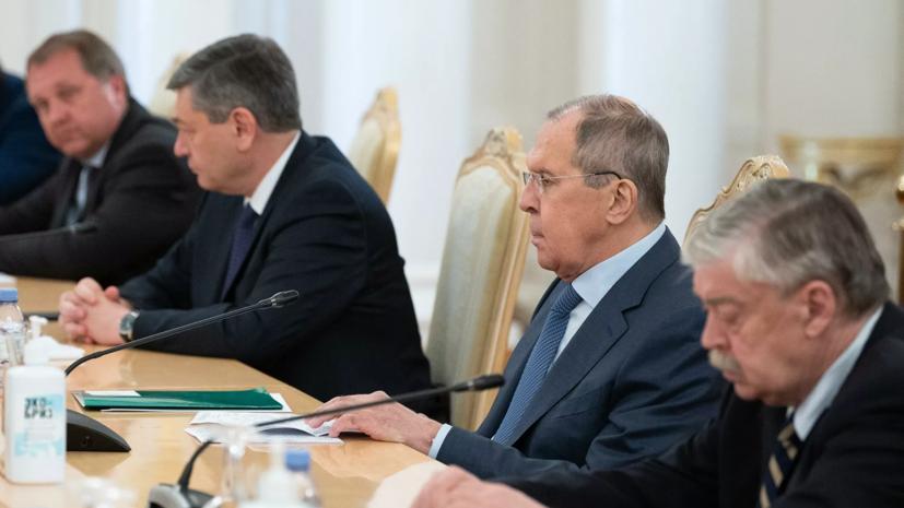 Лавров и Макей обсудили ситуацию с задержанными в Белоруссии россиянами