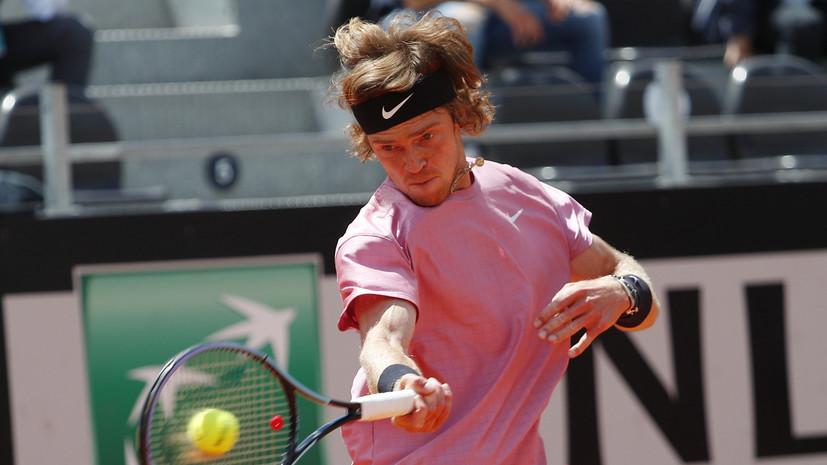 Рублёв победил Кольшрайбера и вышел в полуфинал турнира ATP в Галле