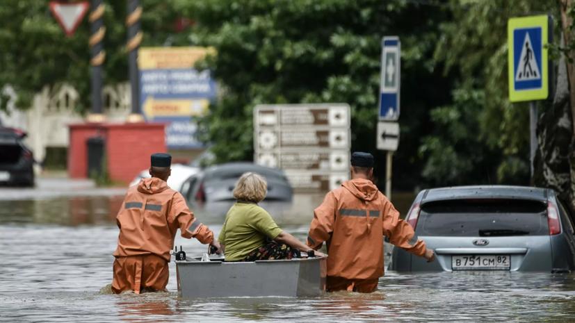 В Ялте в результате подтопления пострадали восемь человек
