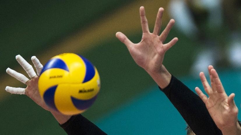 Российские волейболистки проиграли команде Китая в матче Лиги наций