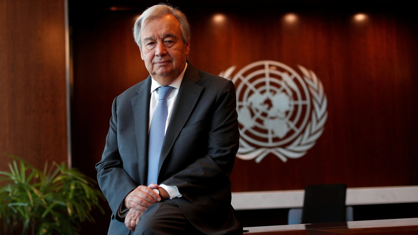Глава ВОЗ поздравил Гутерреша с переизбранием на пост Генсека ООН
