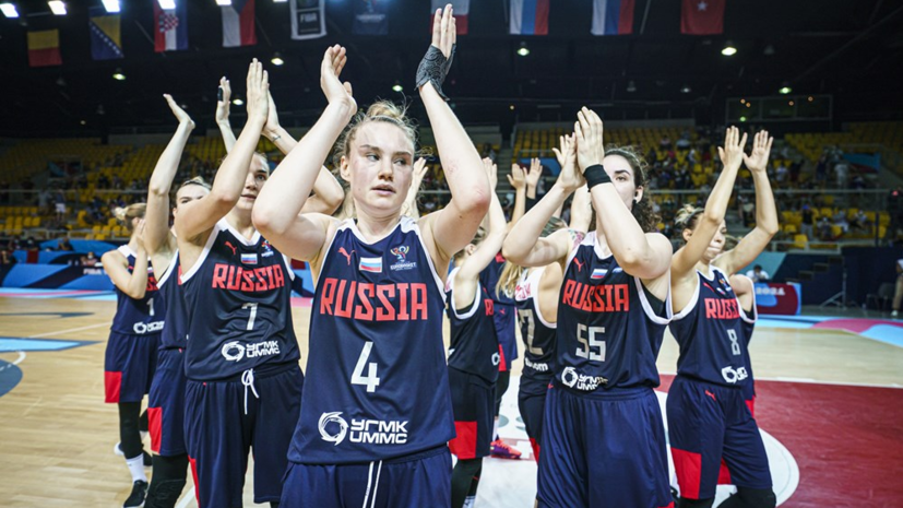 Женская сборная России вышла в плей-офф Евробаскета-2021