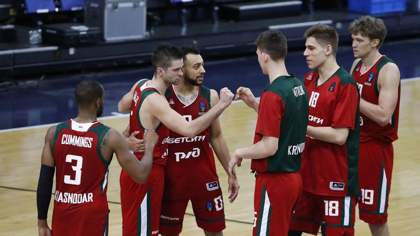 «Локомотив-Кубань» станет единственным представителем России в сезоне-2021/22 Еврокубка