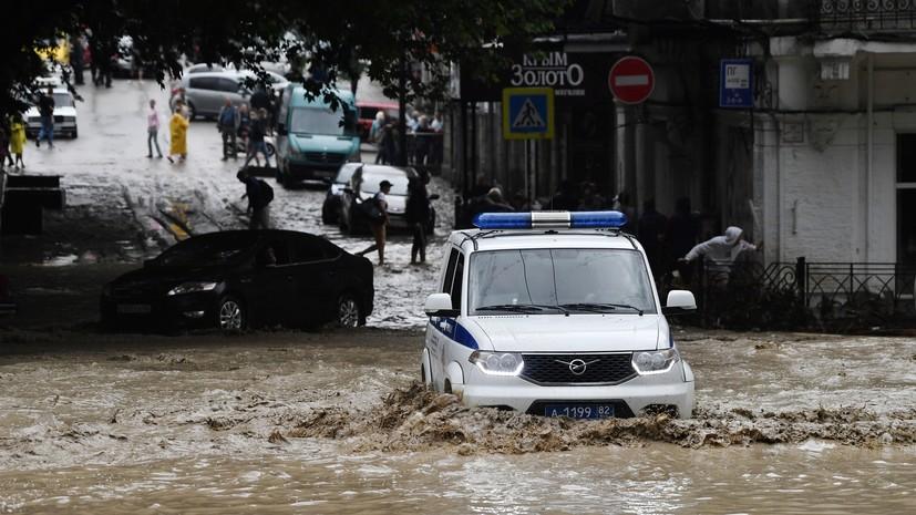 В Ялте число пострадавших в результате подтопления увеличилось до 11