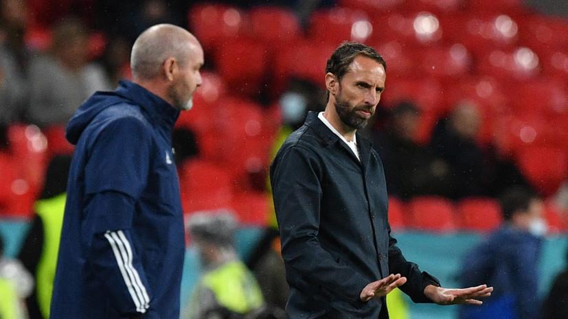 Саутгейт считает, что Англия не наиграла на победу в матче с Шотландией