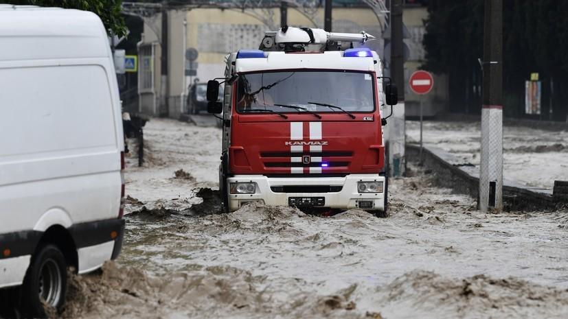 Число пострадавших из-за подтоплений в Ялте возросло до 18