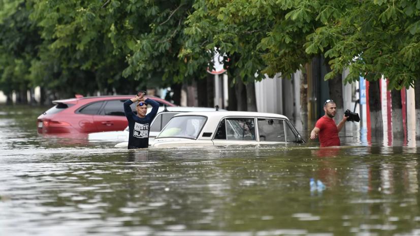 Военные ЧФ прибыли в Керчь для ликвидации последствий стихии