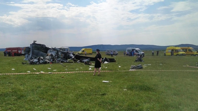 ДОСААФ приостановит все полёты самолётов L-410 после ЧП в Кузбассе