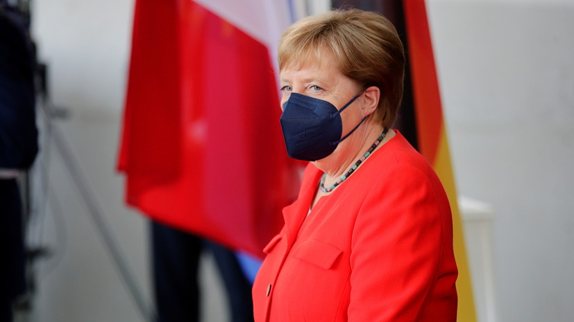 Меркель заявила о потребности ФРГ в диалоге с Россией