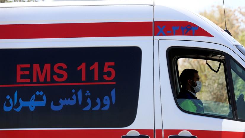 В Иране один человек погиб и 11 пострадали при крушении вертолёта