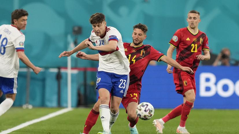 Кузяев: потихоньку привыкаю к позиции крайнего защитника в сборной России