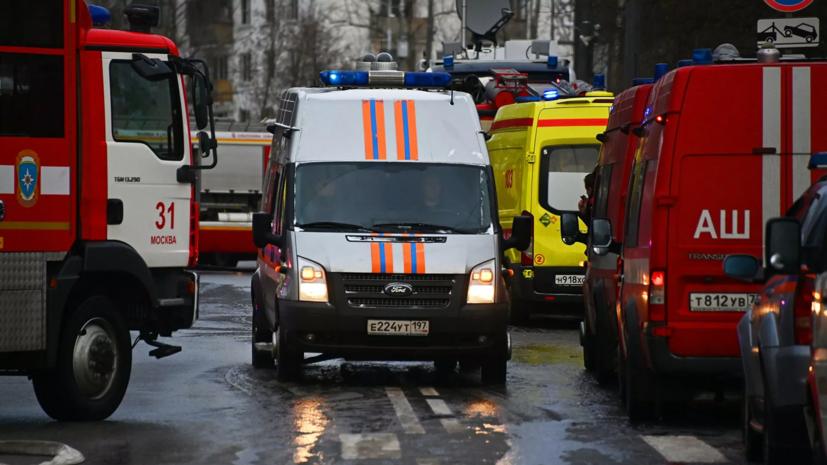 В МЧС уточнили детали пожара на Лужнецкой набережной в Москве