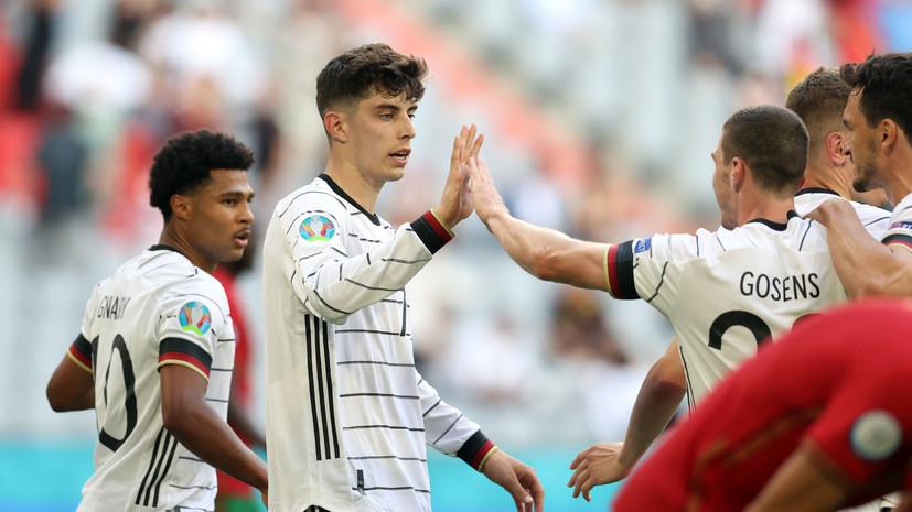 Хаверц стал самым молодым игроком сборной Германии, забившим на Евро