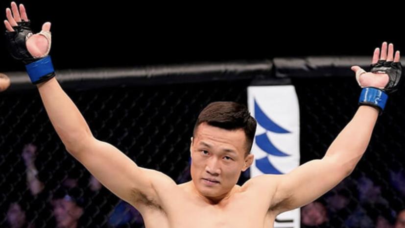 Корейский Зомби победил Иге в главном бою турнира UFC Fight Night