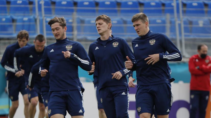 Сборная России по футболу сдала отрицательные тесты на коронавирус