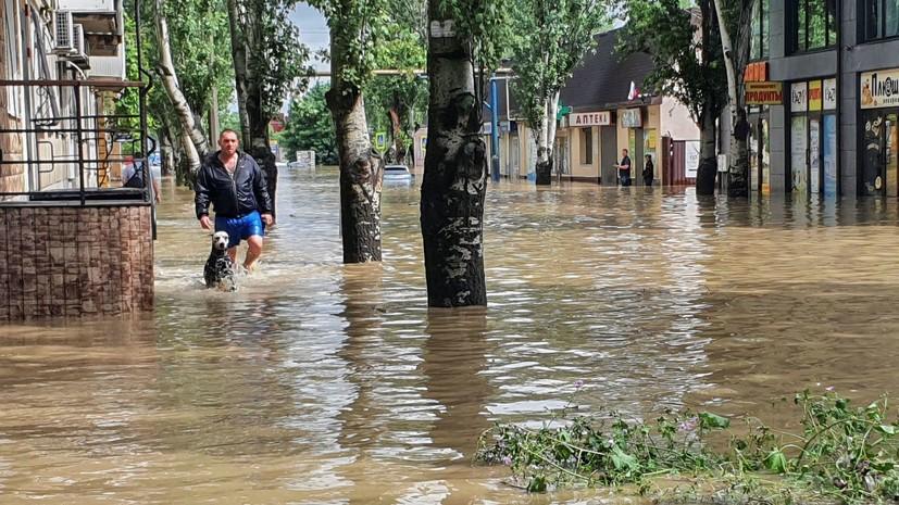 Власти рассказали о ситуации с подтоплением в Керчи
