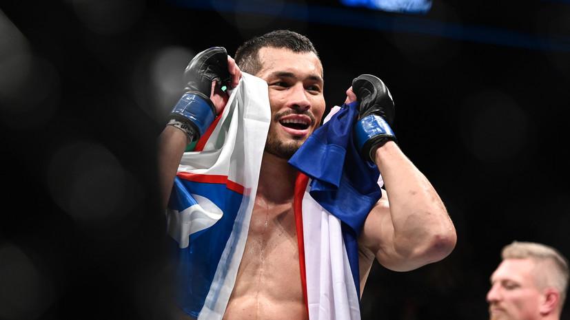Боец UFC Мурадов: для меня нет ничего постыдного в том, чтобы самому вытереть пол в зале