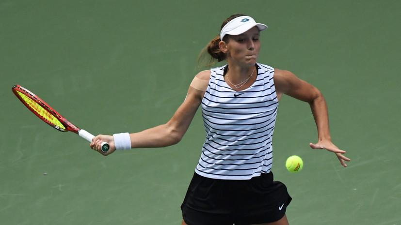 Грачёва уступила Синяковой на старте турнира WTA в Бад-Хомбурге