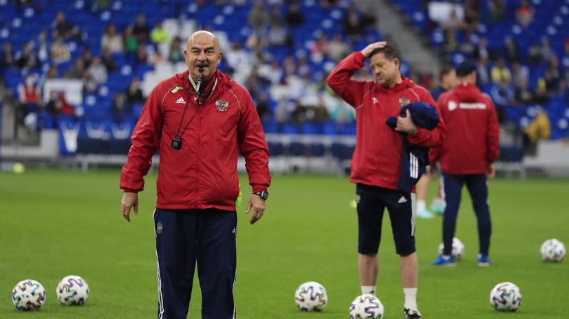 Черчесов ответил, устроит ли Россию ничья в матче Евро-2020 с Данией
