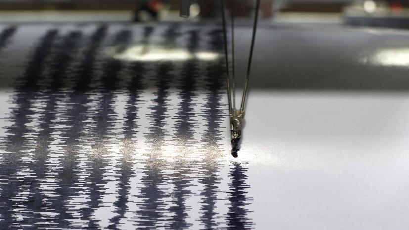 Землетрясение магнитудой 6,3 произошло в районе Новой Зеландии