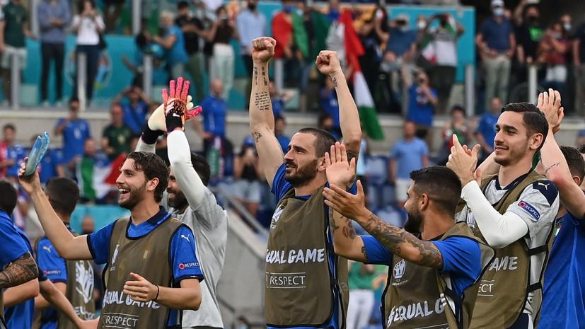 Италия выиграла группу A, Уэльс вышел в плей-офф Евро-2020 со второго места