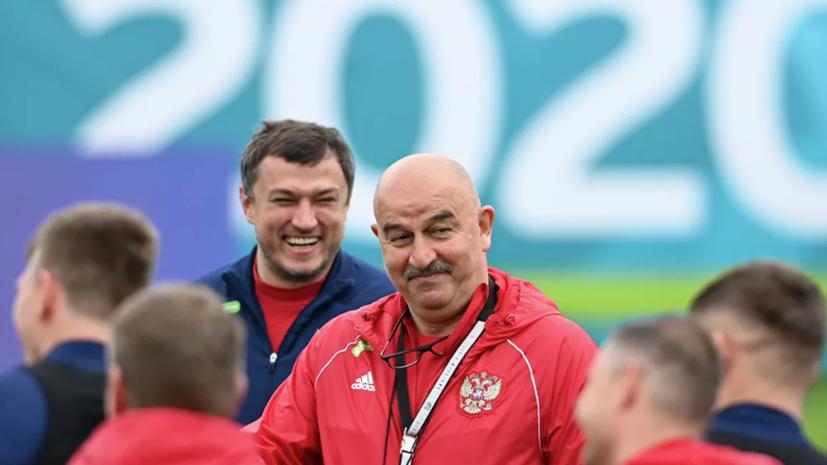 Черчесов высказался о матче сборной Дании с Бельгией