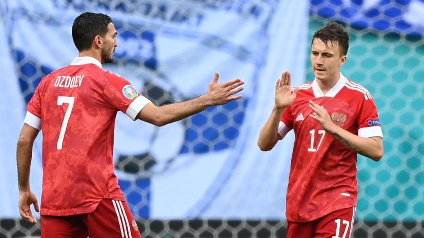 Головин оценил свою игру за сборную на Евро-2020 перед матчем с Данией