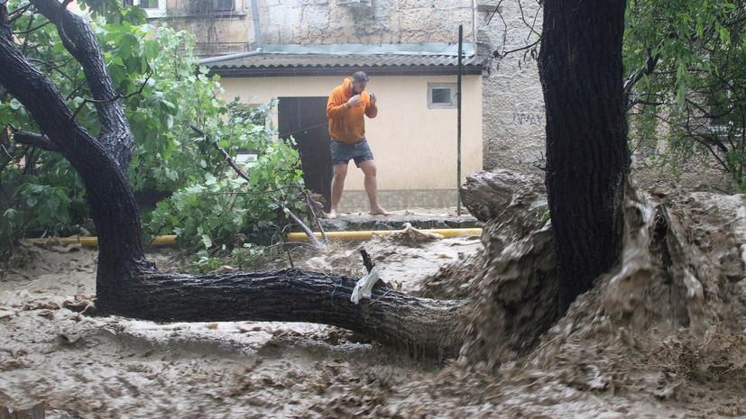 Числившийся пропавшим после потопа в Ялте мужчина нашёлся живым