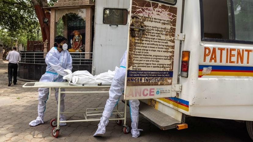 Число случаев коронавируса в Индии превысило 29,9 млн