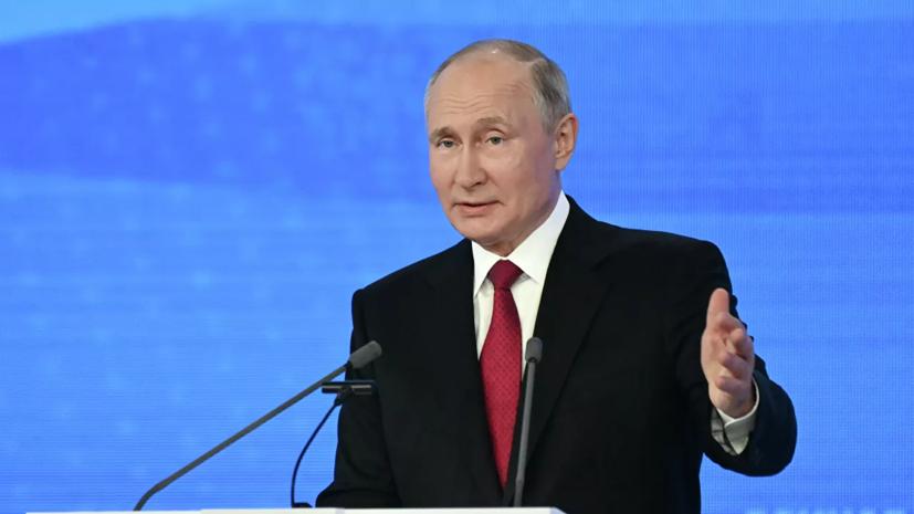 Путин заявил, что угроза коронавируса ещё не отступила