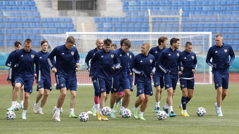 Сборная России сразу после матча с Данией на Евро-2020 вылетит в Москву