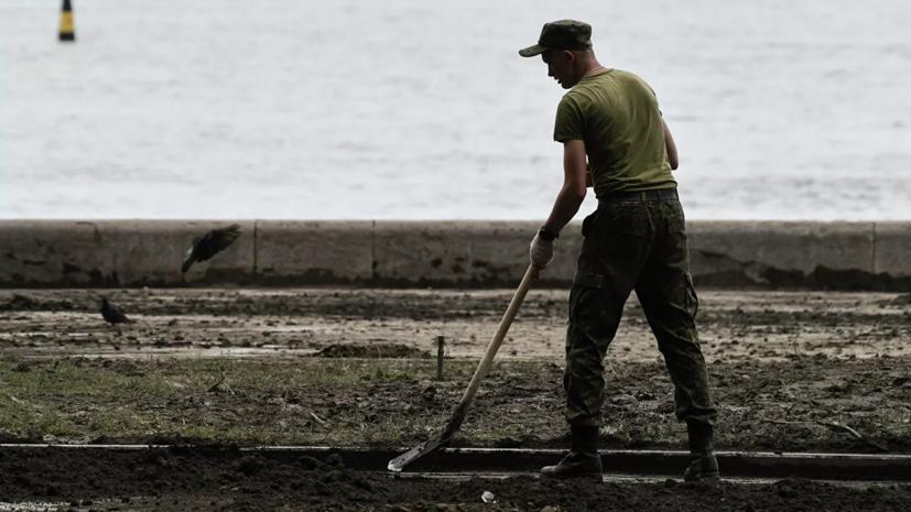 Восстановительные работы в Крыму должны завершить за неделю