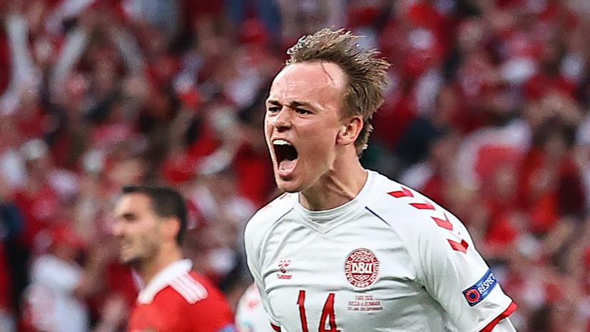 Дамсгор стал первым родившимся в 2000-х автором гола на чемпионате Европы
