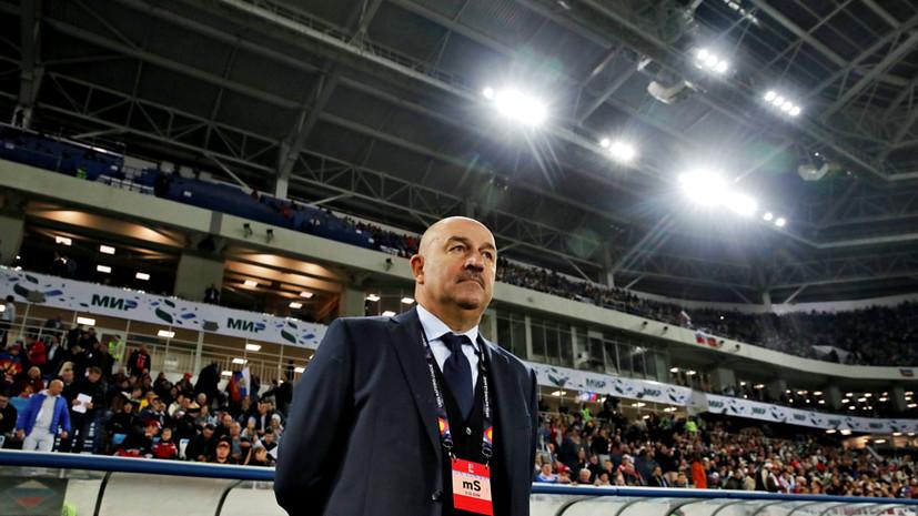 В ожидании кадровых выводов: стоит ли увольнять Черчесова после провала сборной на Евро-2020