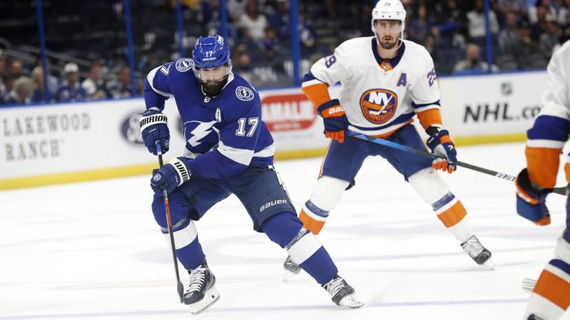 Три передачи Кучерова помогли «Тампе» разгромить «Айлендерс» в матче плей-офф НХЛ