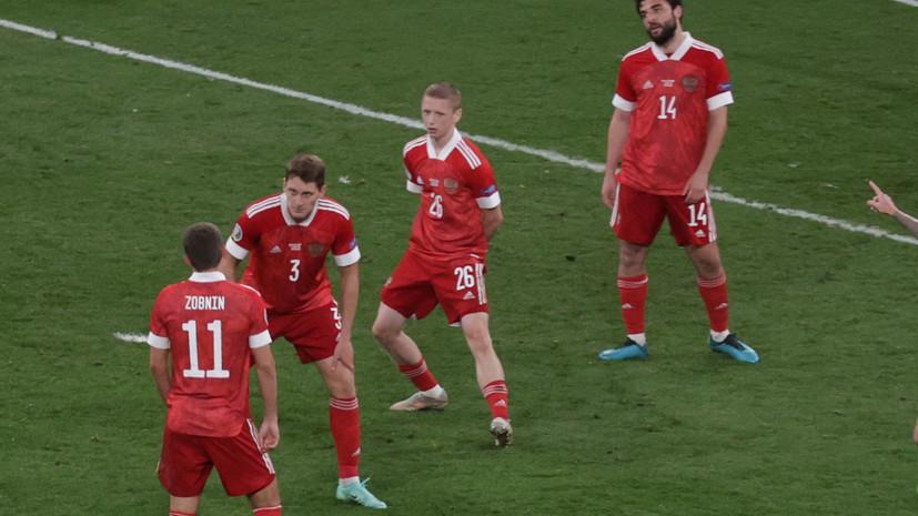 Мостовой считает, что Россия забила Дании на Евро-2020 благодаря судейской ошибке