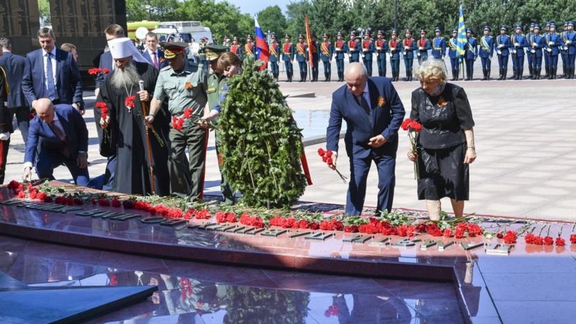 В День памяти и скорби в Хабаровске проходят патриотические мероприятия.