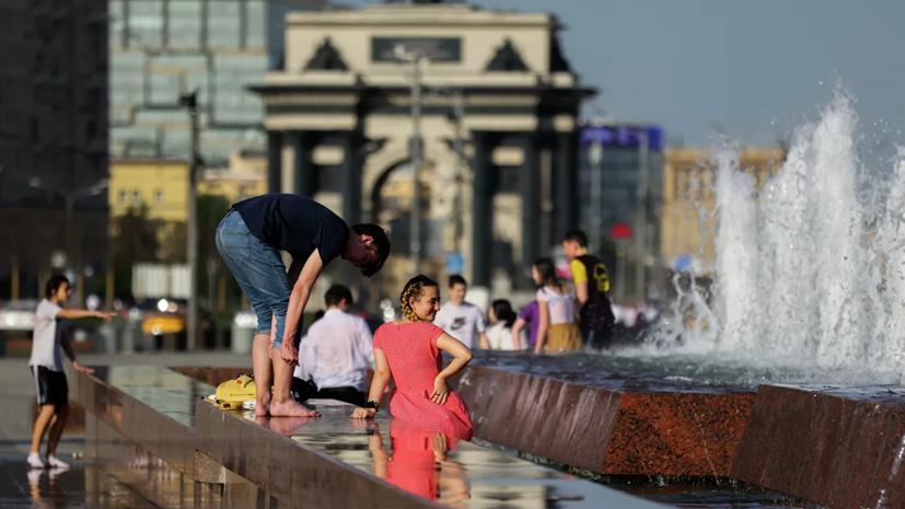 В Москве побит рекорд жары для 22 июня