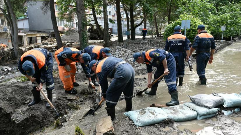 В Крыму подсчитали ущерб инфраструктуре от стихии