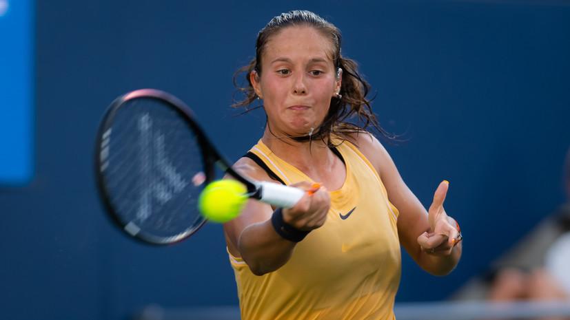 Касаткина вышла во второй круг турнира WTA в Истборне после отказа Звонарёвой