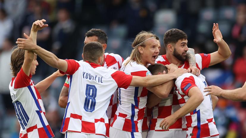 Футболист ЦСКА Влашич забил свой первый мяч на Евро-2020