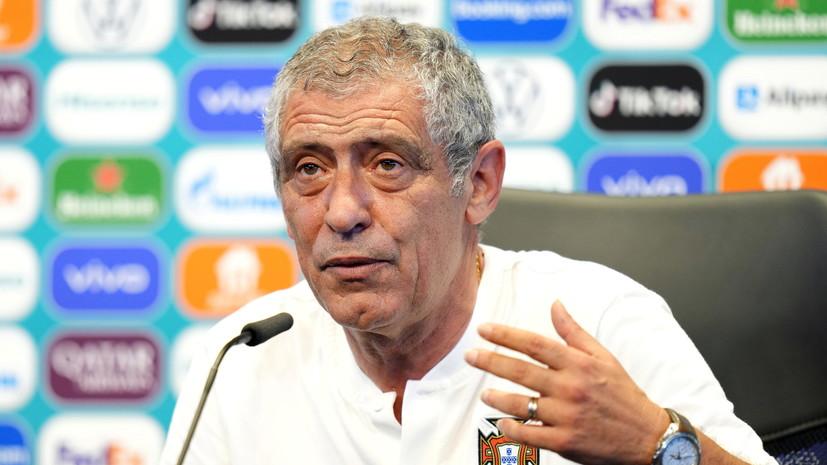 Сантуш предположил, как Франция будет атаковать в матче с Португалией