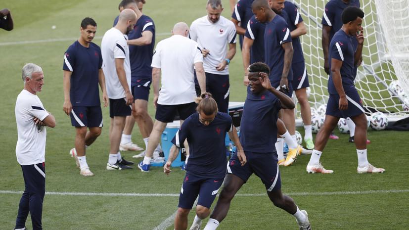 Дешам рассказал о задаче Франции в матче с Португалией на Евро-2020