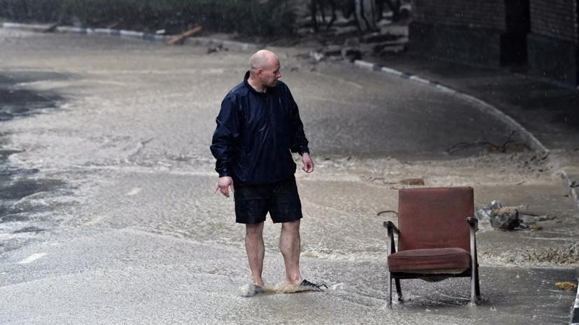 МЧС намерено ликвидировать последствия наводнения в Крыму к 28 июня