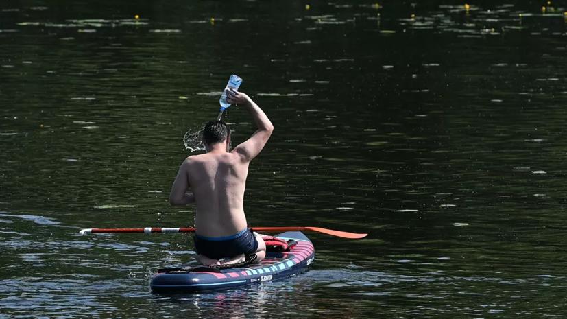 В Москве побит рекорд жары для 23 июня