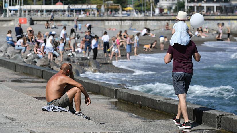 Эксперт оценил ситуацию на российских курортах